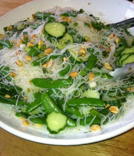 Quick Asian Noodle Salad