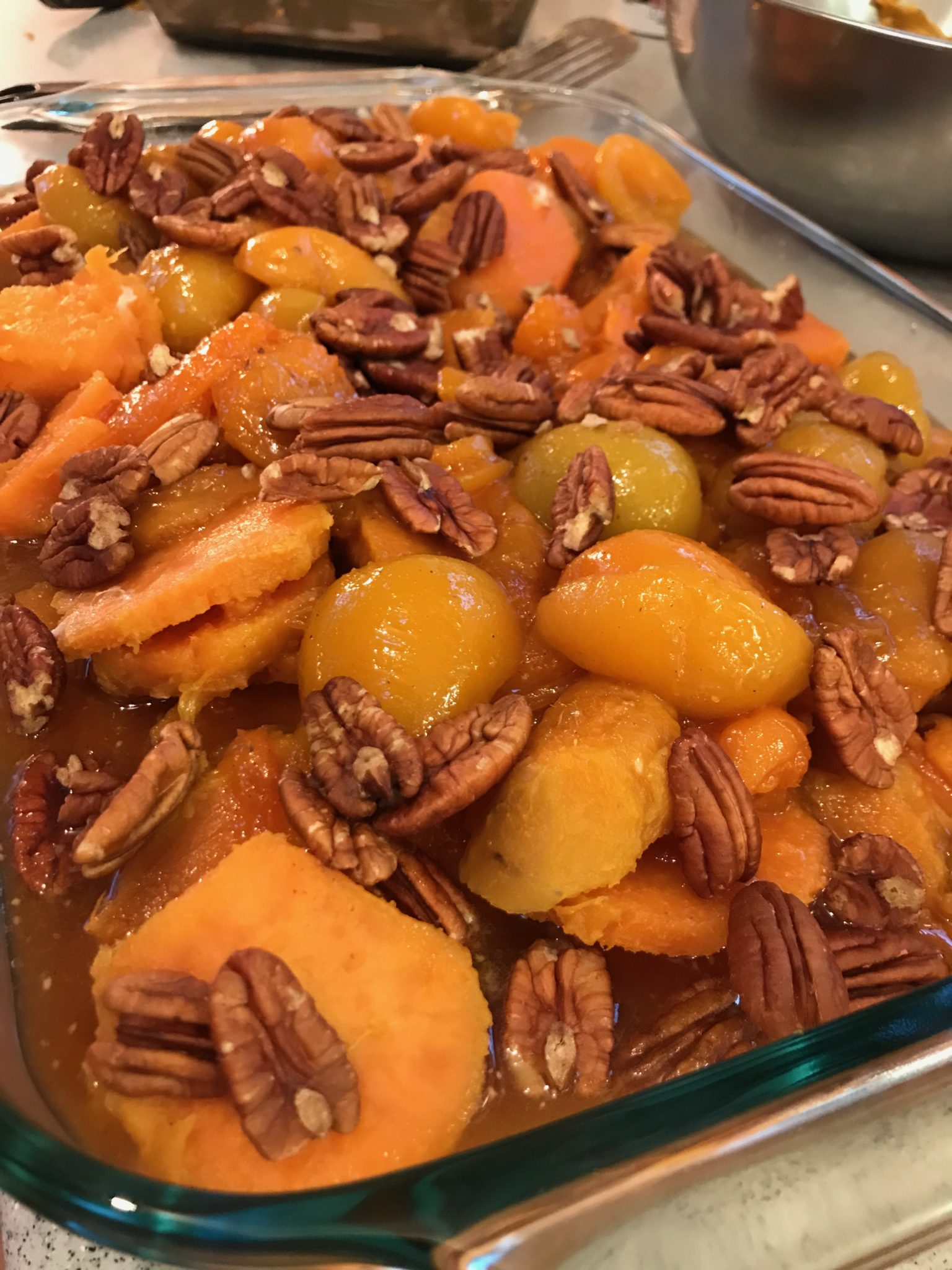 Bourbon Sweet Potato Surprise
