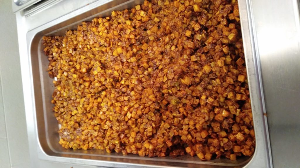 school disctrict baked butternut squash